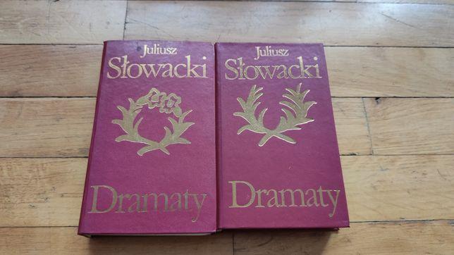 Książka Dramaty Juliusz Słowacki Tom 1 i 2
