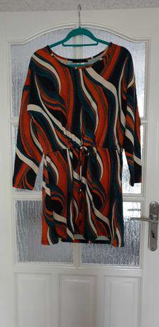Kolorowa sukienka Monnari