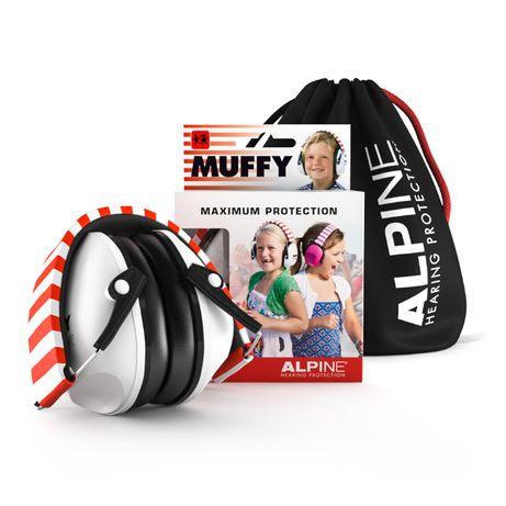 Ochronniki słuchu dla dzieci Alpine Muffy White