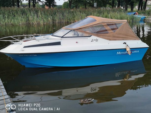 Motorówka kabinowa Shateland 580 De Luxe Urania 75KM