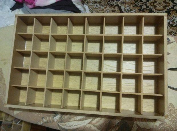 органайзер,коробка ,ячейница(ящищек с ячейками)