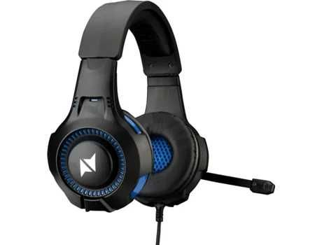 Headset Auscultador Gaming NPLAY Contact 2.0 PC / PS4 / XBOX / Switch