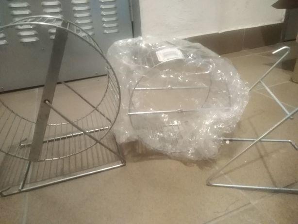 2 x kołowrotek dla gryzonia duże nowy dla szczura szczur