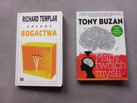 2 książki rozwojowe całość 30 zł plus kw