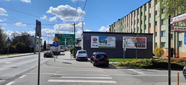 Wynajmę tablice reklamową Wieluń ul Sieradzka przy szkole Osiedle AK