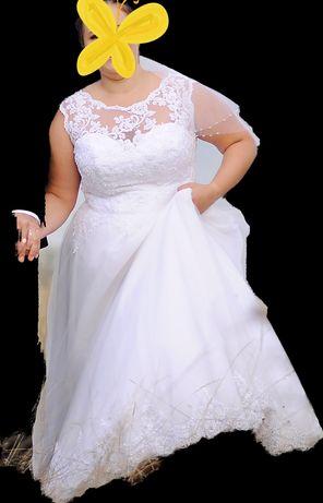 Suknia ślubna r.44