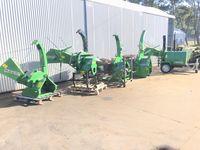 Estilhador Bio triturador biotriturador para tractor e diesel