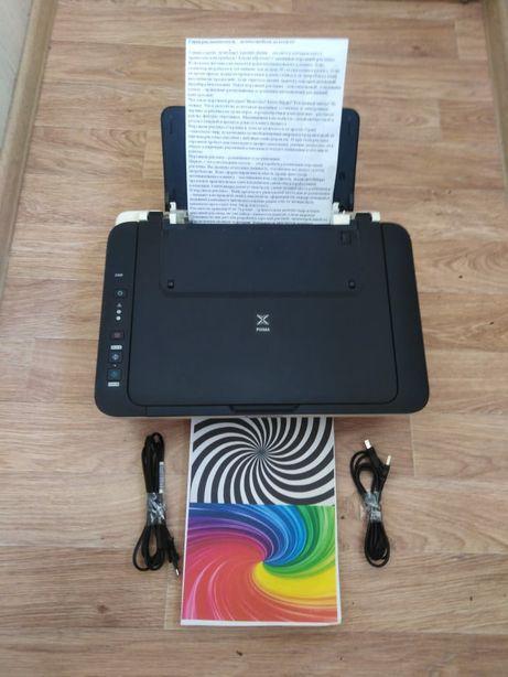 Принтер, Сканер, Ксерокс, МФУ 3 в 1, Canon Pixma E-404