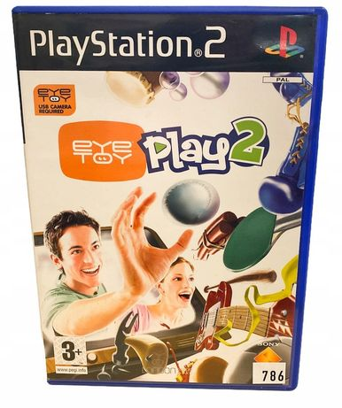 Eye Toy Play 2 Ps2 Playstation 2