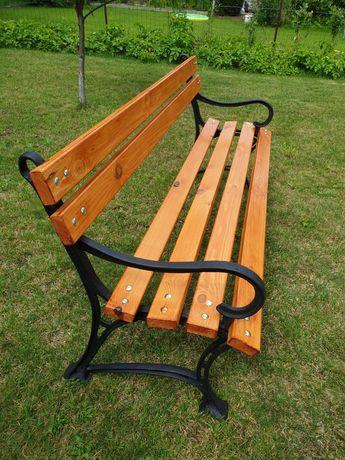 Promocja !!! Nowa ławka ogrodowa, kolor Tik !!