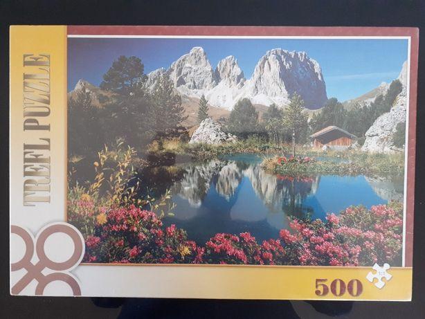 Puzzle Trefl Nowe 500 elementów Nowe