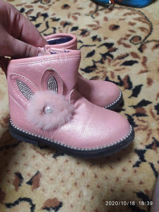 Осінні черевички для дівчинки. Луцк - изображение 1