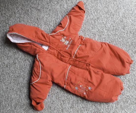 kombinezon zimowy Berti 68 czerwony