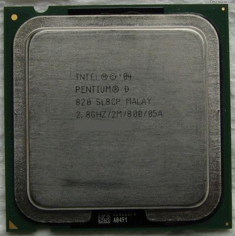 Intel Pentium D 2.8GHz - SL8CP