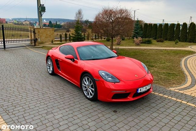 Porsche 718 Cayman Porsche 718 Cayman ! Salon Polska / 1 Wł / Serwis ASO/ Sport Chrono!