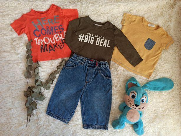 Одежда детская ( футболка,реглан,кофта, джинсы) на мальчика