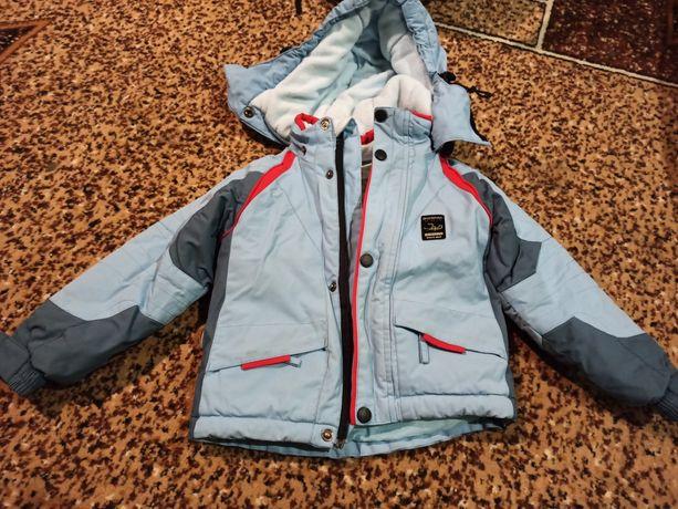 Куртка зимняя 98 рост