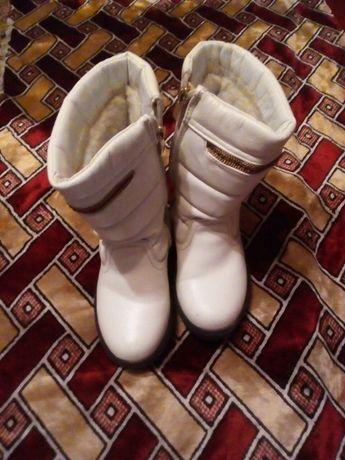 Зимові чоботи  зимние сапоги