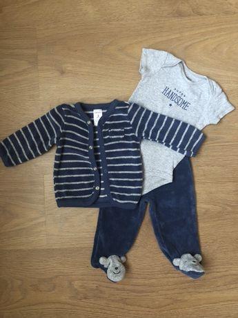 Carter's костюм набор,  новый,  махровый 3 месяца