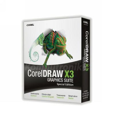 CorelDraw X3 Graphics Suite PL Special Edition