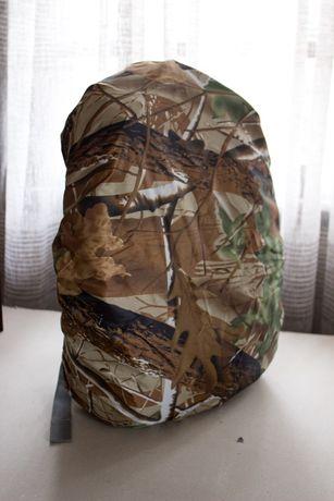 Capa de mochila impermeável à prova de agua militar reversível