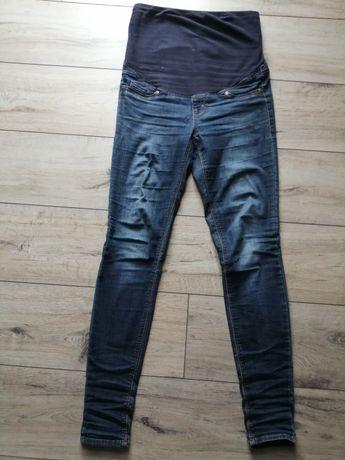 Spodnie ciążowe jeansowe jeans H&M