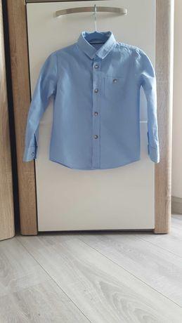Koszula niebieska 110