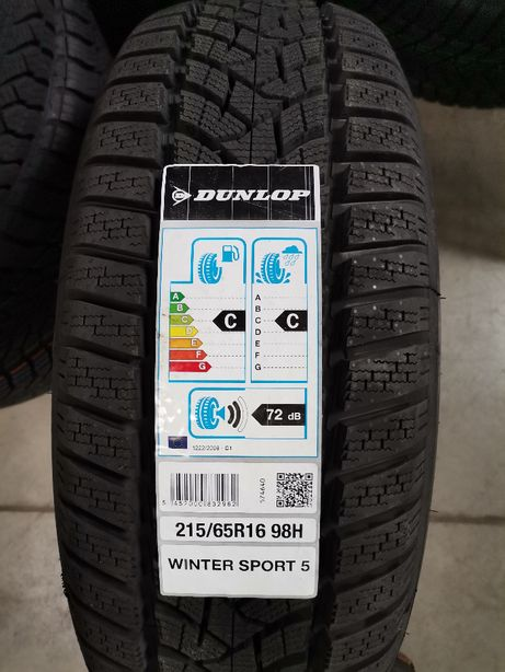 215/65R16 98H Dunlop WINTER SPORT 5 Nowe 20rok