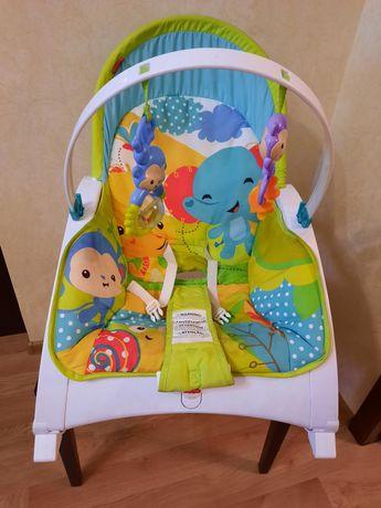 Портативное кресло-качалка Fisher-Price