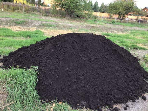 Чернозем плодородный,машина чернозема.Торфогрунт