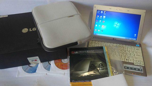 Новый ультрабук-нетбук-ноутбук LG 2ядра/батарея 4часа.Полный комплект!