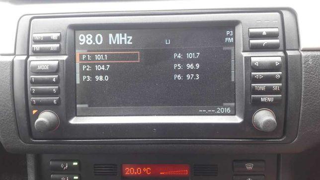 Monitor Nawigacja 16:9 BMW e46 CD 2004 stan bardzo dobry