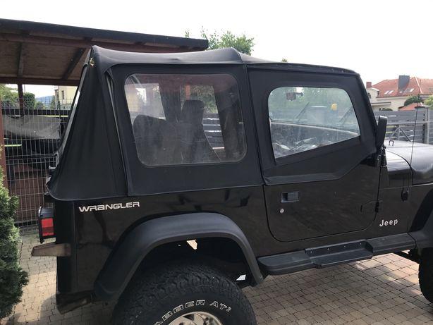 Jeep Wrangler yj plandeka  + stelaż