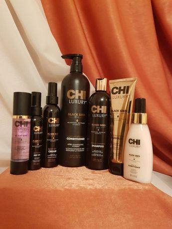 CHI LUXURY Black Seed Oil Kardashian шампунь кондиционер маска масло