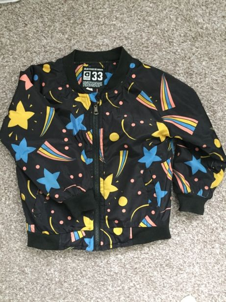 Легкая куртка на мальчика. Бомбер. Осень рост 98 - 104