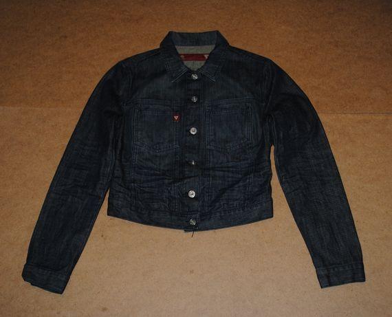 Guess usa фирменная женская куртка джинсовая джинсовка гес