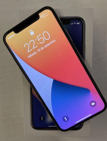 Iphone X  64 gb de cor prata desbloqueado