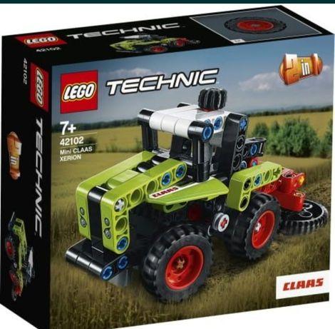Nowe LEGO technic 42102 Mini Claas xerion