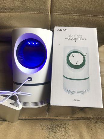 Ловушка (убийца) комаров,ультрафиолет,питание от USB