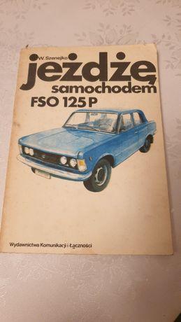 Książka jeżdżę samochodem 125p