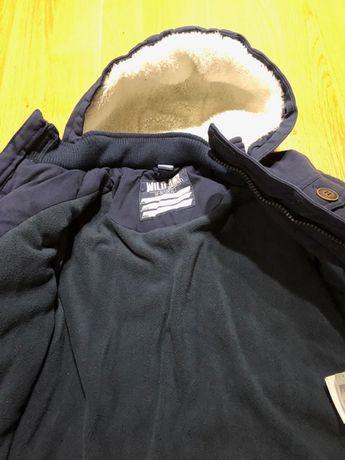 Zamienię cieplutką kurtkę zimową 104/110