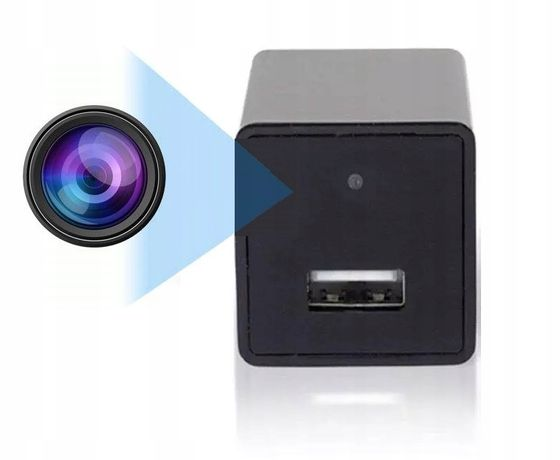 Ładowarka USB ukryta mini kamera szpiegowska