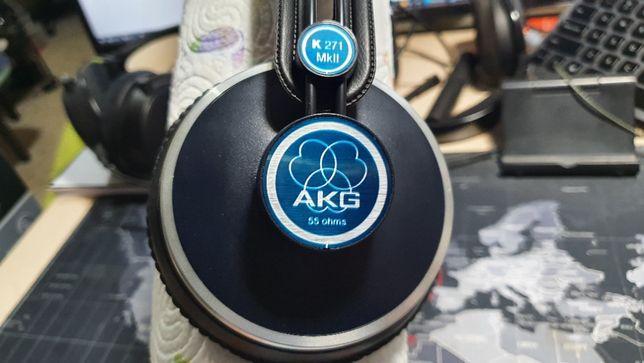 AKG K271 MKII Harman. 10/10 Классические закрытые студийные наушники