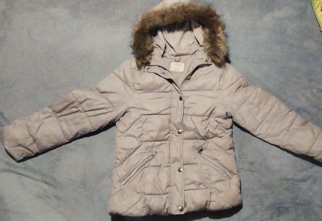 Zara kurtka zimowa na około 10-12 lat
