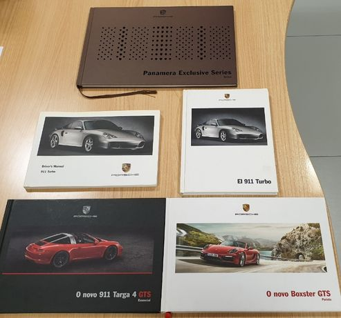 Manuais e Guias Técnicos Porsche - Produto Oficial