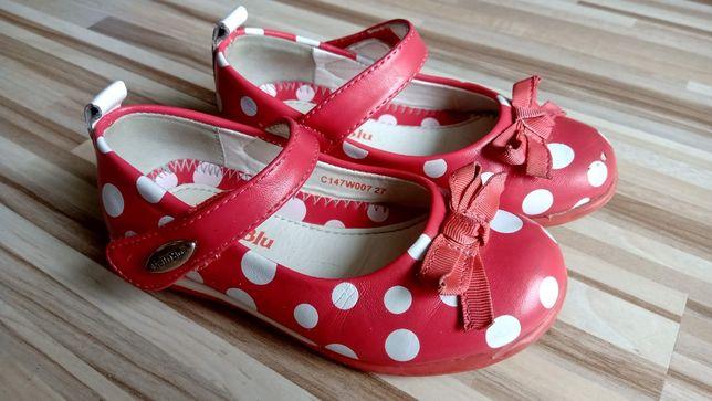 Półbuty baleriny pantofelki dziewczęce Nelli Blu rozmiar 27