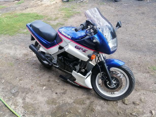 Kawasaki gpz 500 gpz500 części silnik gaźnik moduł lagi chłodnica kolo