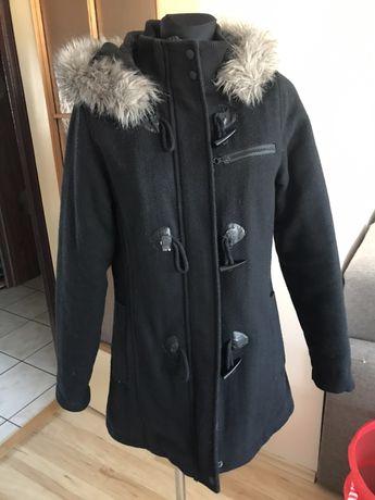 Płaszcz House zimowy L czarny