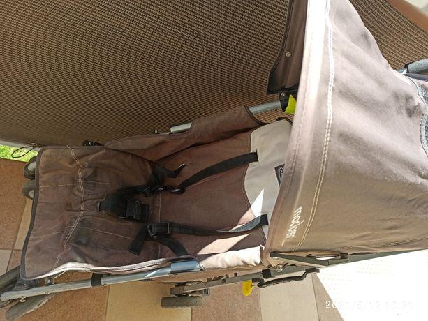 Wózek spacerowy brązowy