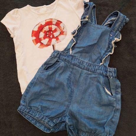 Комбез Чіко і футболка Бембі комплект 1-1,5 рочки